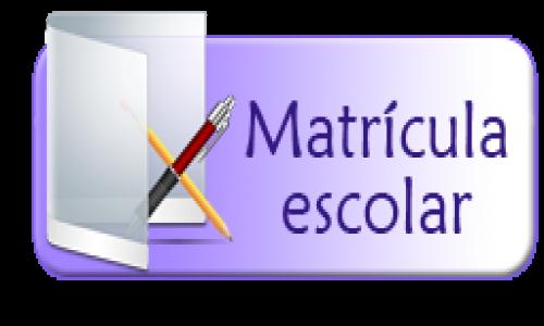 Logo matrícula escolar